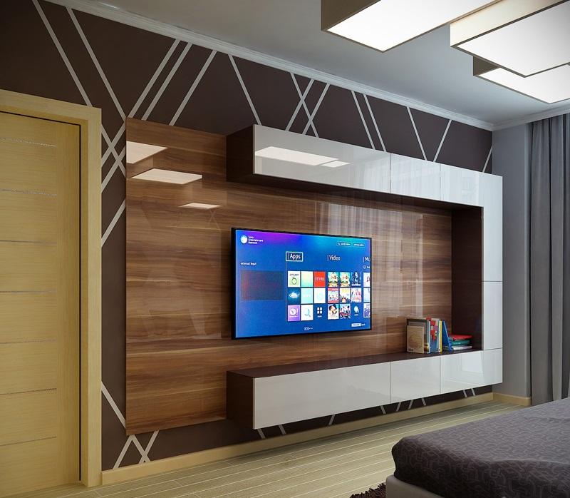 Мебель под телевизор в гостиную: правильная организация пространства
